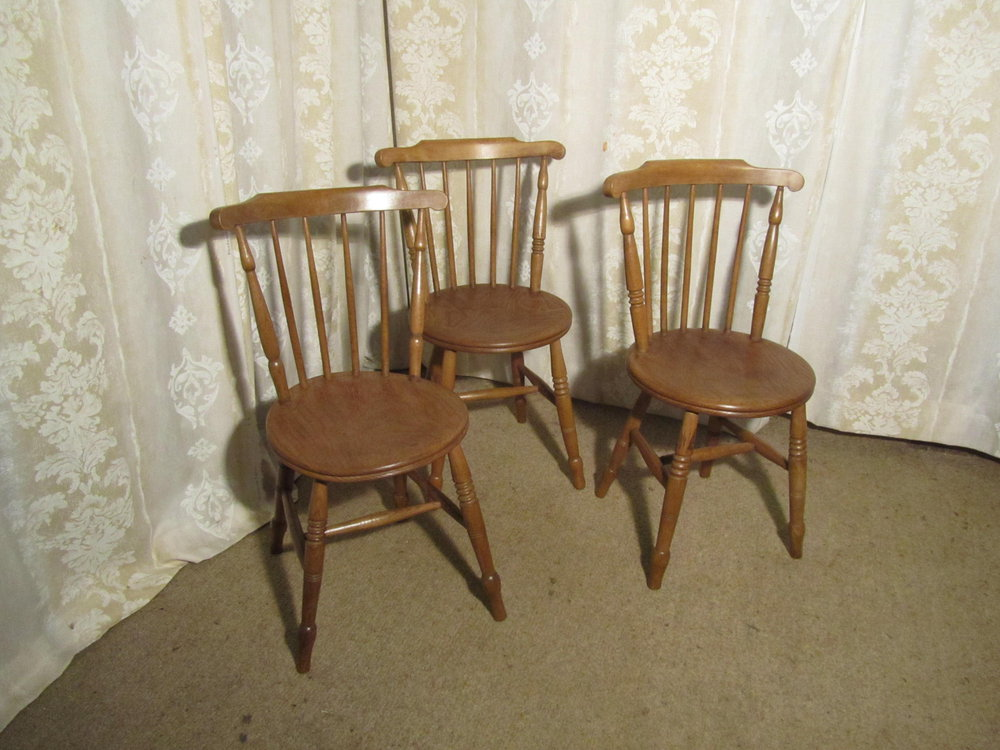 Kitchen chairs beech
