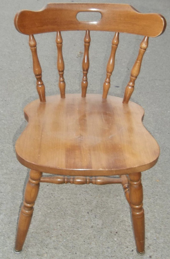 Kitchen chairs maple