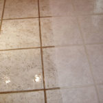 Kitchen floor tile and grout cleaner