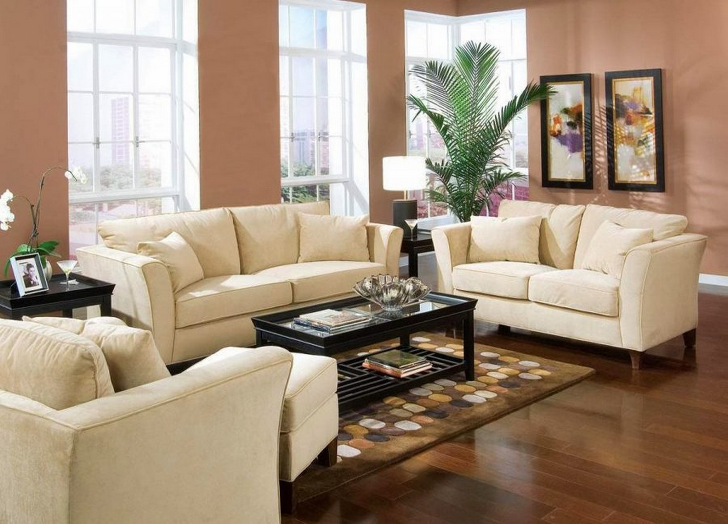 Living room furniture ideas for small rooms