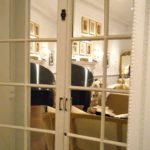 Mirrored closet doors french