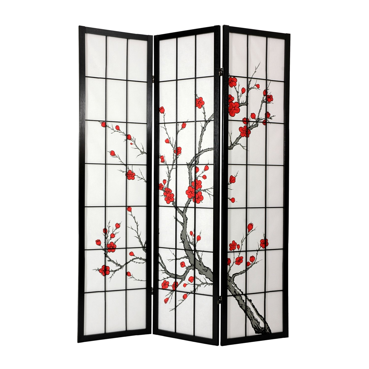 Oriental room dividers screens
