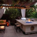 Outdoor bbq bar designs