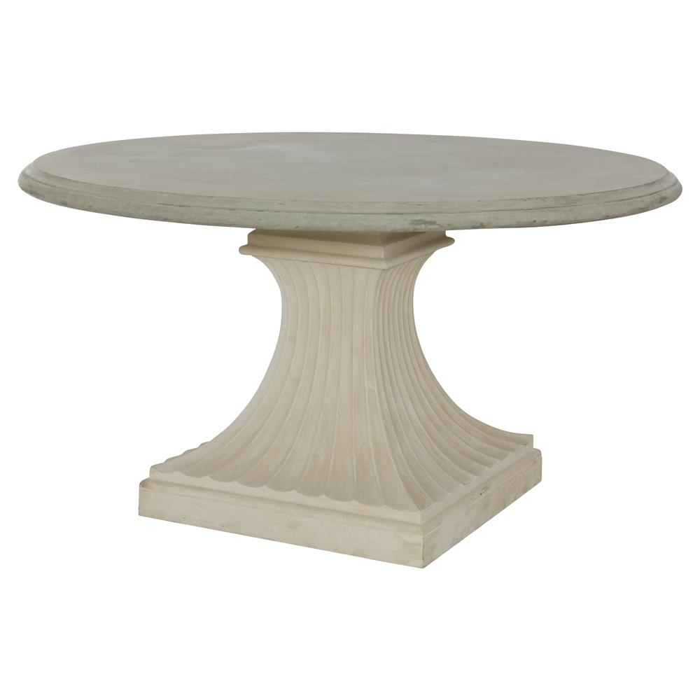 Outdoor dining table base
