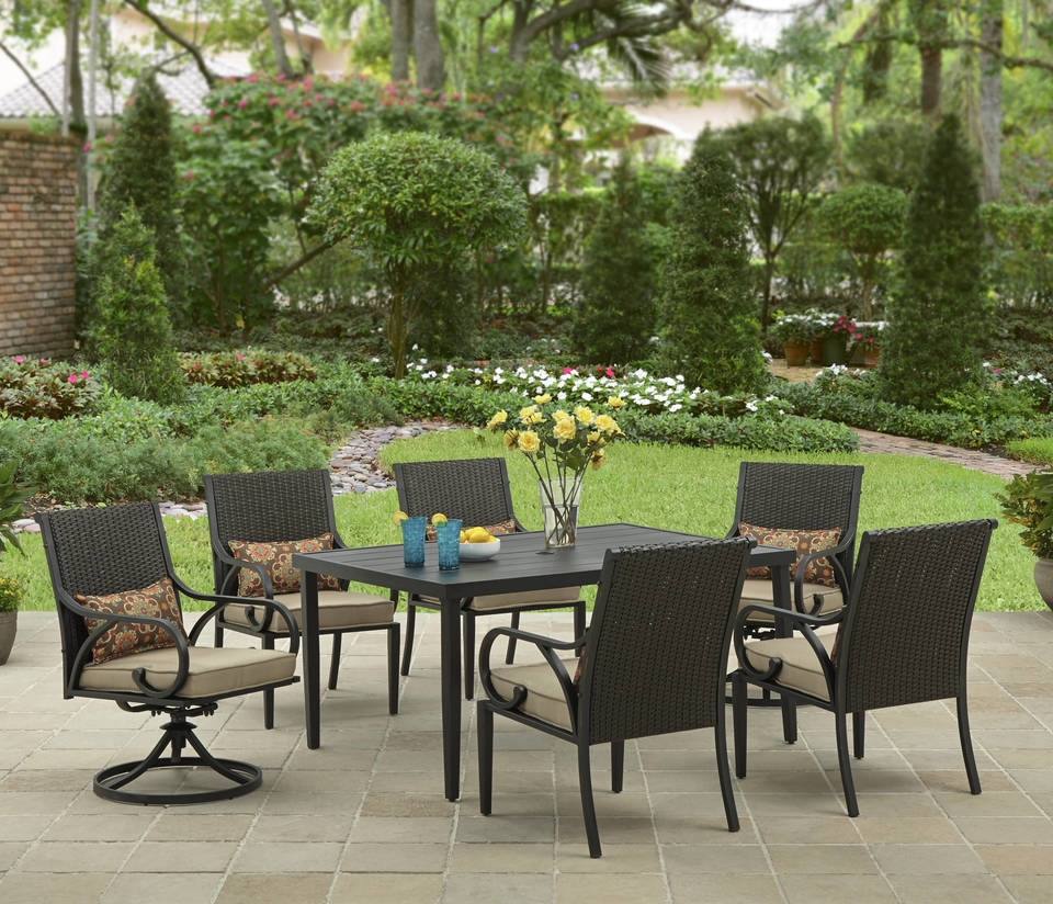 Outdoor garden dining sets