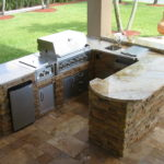 Outdoor kitchen island plans