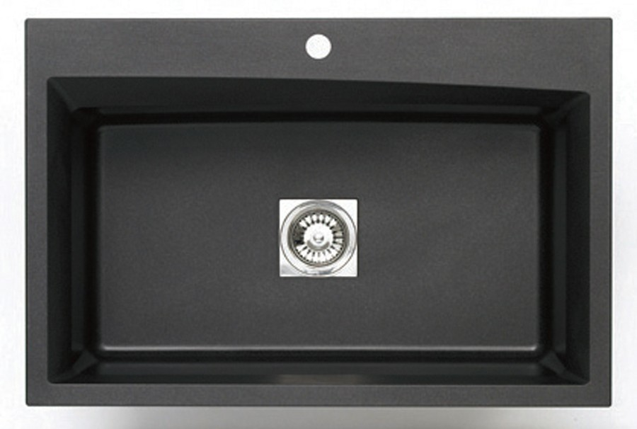 Pegasus black granite sink