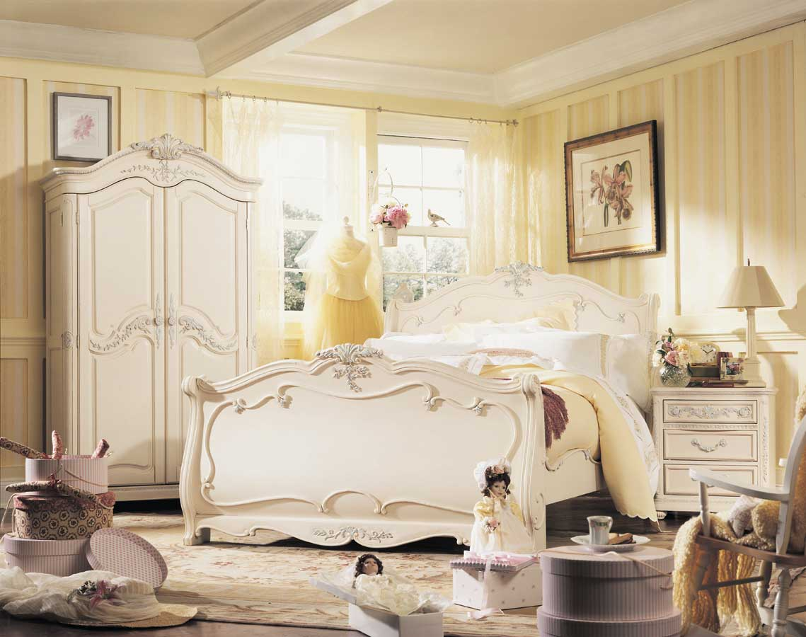 Romantic bedroom furniture ideas