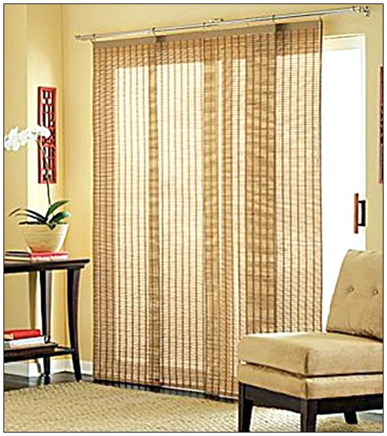 Sliding glass door blinds ideas