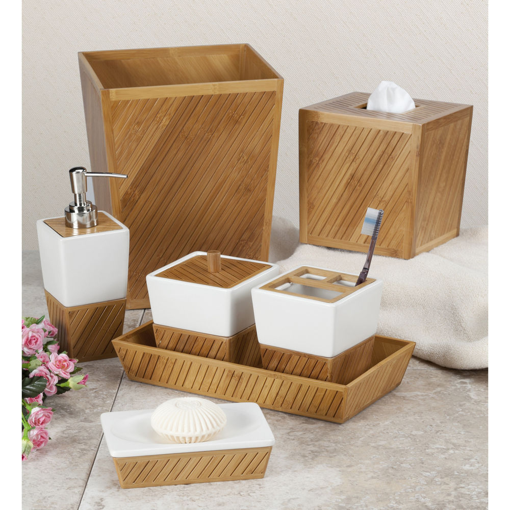 Spa bathroom set