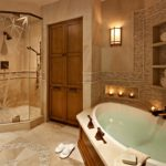 Spa bathroom shower ideas