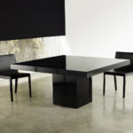 Square dining table contemporary