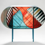 Stained glass furniture design