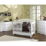 Twin nursery furniture sets