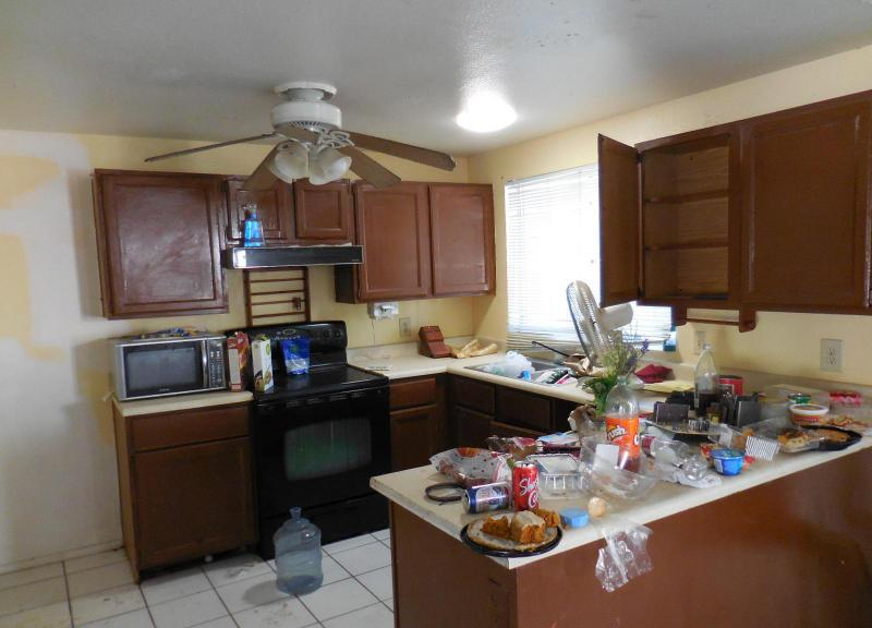 Typical u shaped kitchen