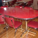 Vintage kitchen table sets
