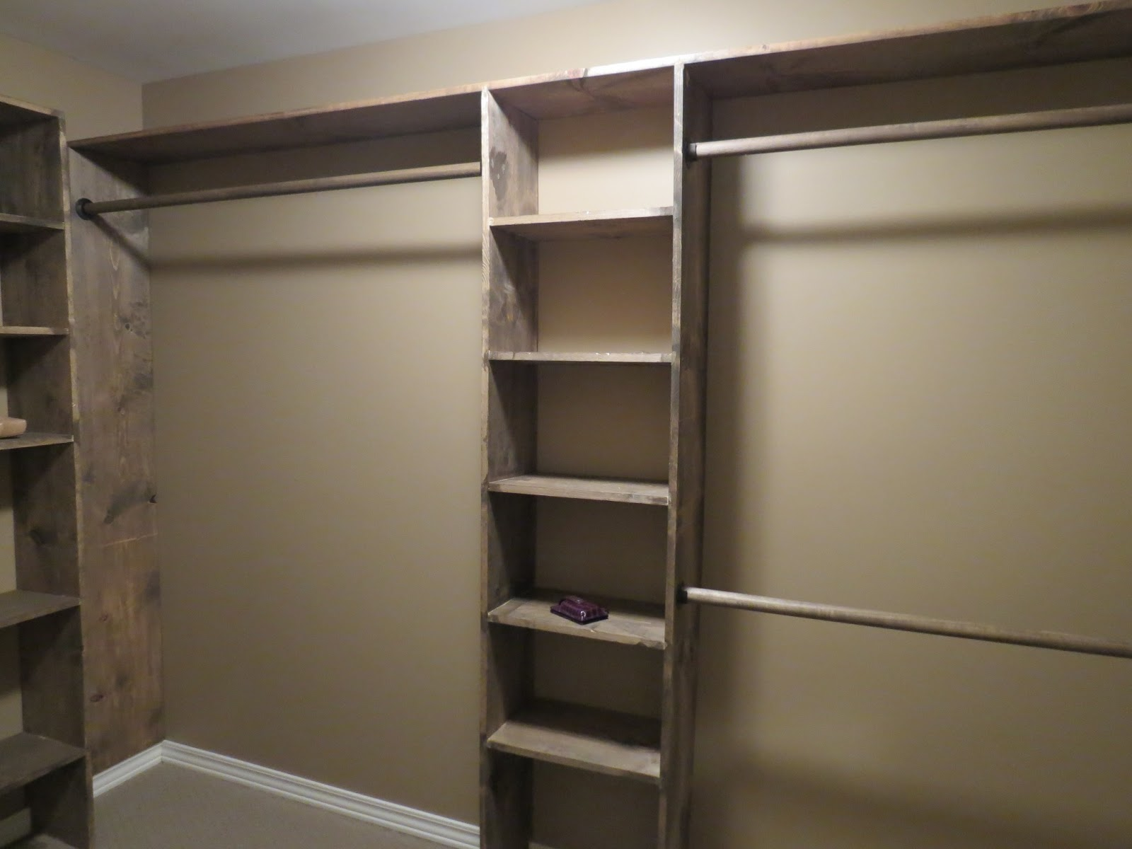 Walk in closet design diy