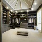 Walk in closet design for men