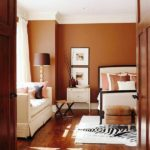 Wall paint colors brown