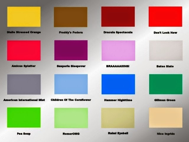 Wall paint colors mood