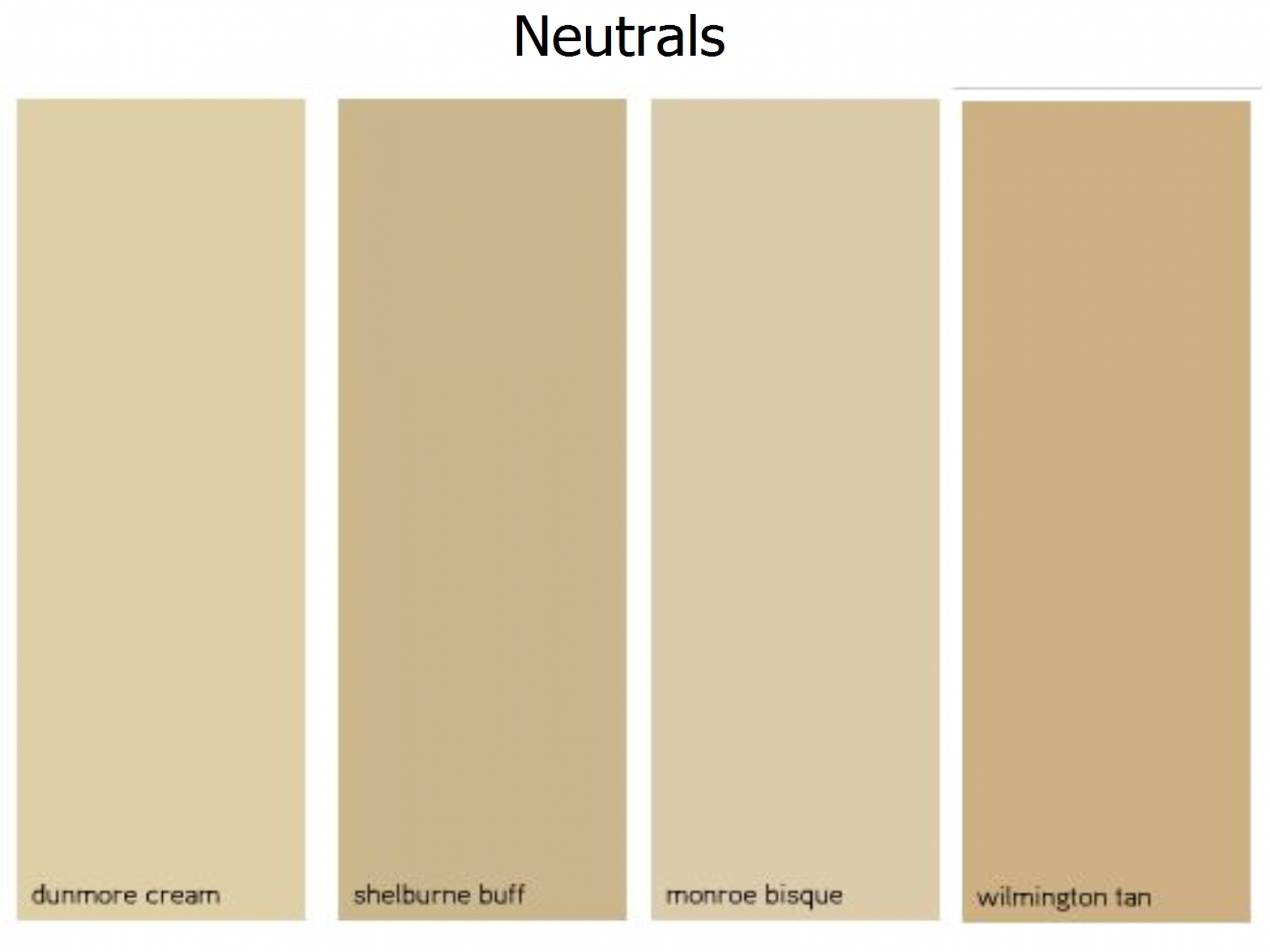 Wall paint colors neutral