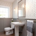 Wallpaper for bathrooms