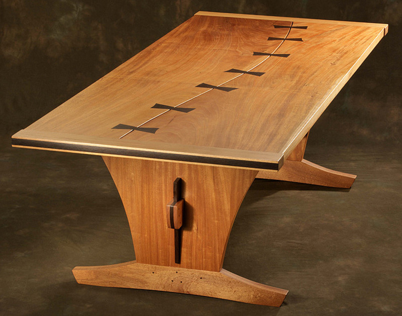 Wood table design ideas pictures