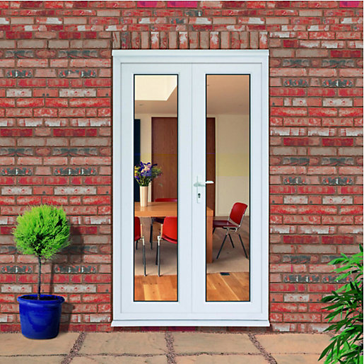 4 foot french doors exterior photo - 10