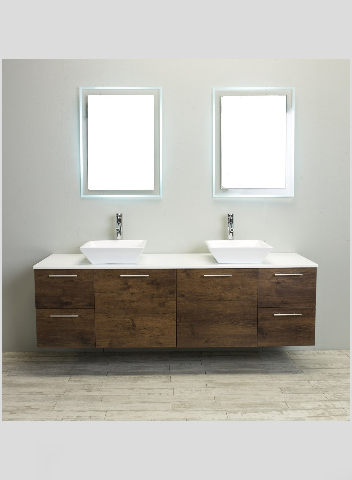 Altamarea Unusual Wall Hung Bathroom Vanities with Sink photo - 10