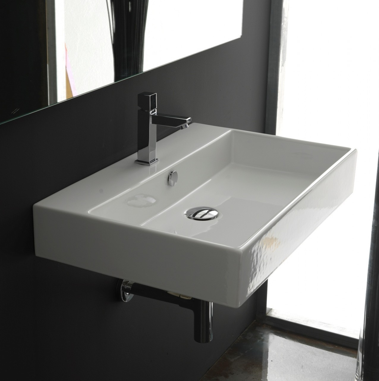 Altamarea Unusual Wall Hung Bathroom Vanities with Sink photo - 3
