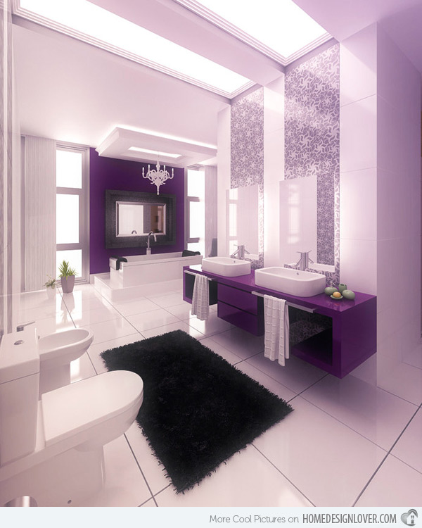 Aquaplus Pink Bathroom Fixtures Lilac photo - 7