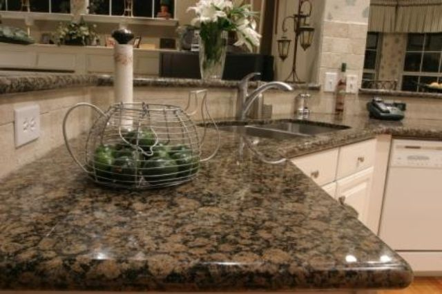 Baltic Brown Granite Countertops photo - 10