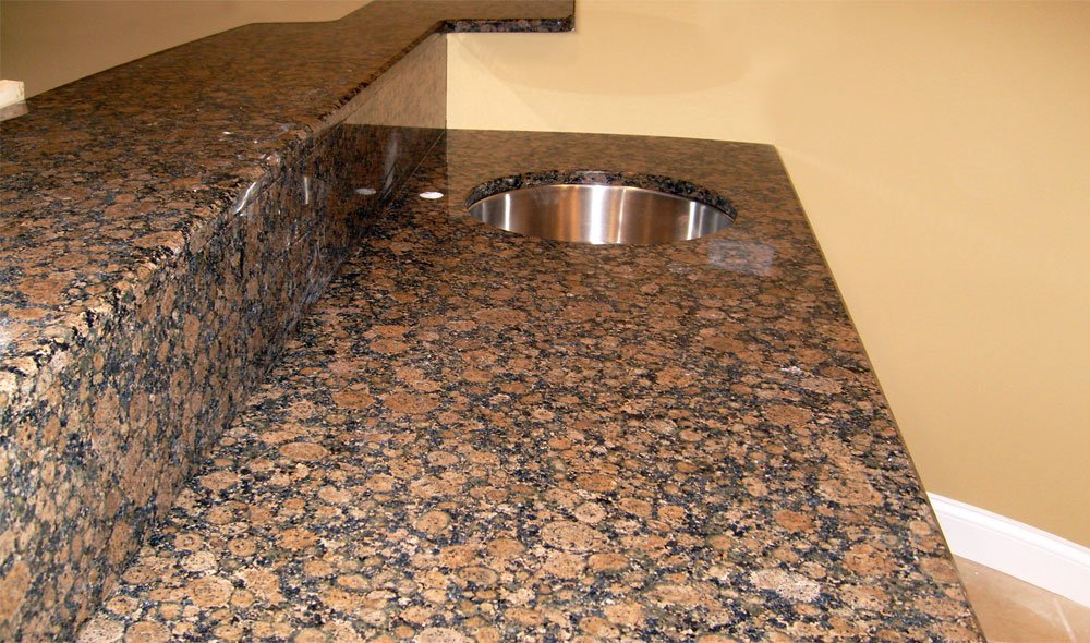 Baltic Brown Granite Countertops photo - 3