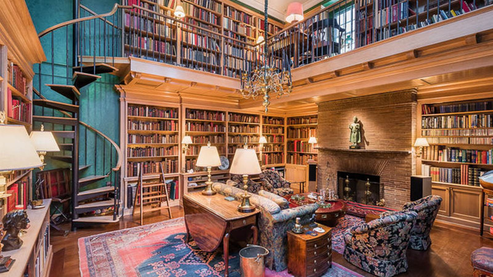 Beautiful Private Library photo - 2