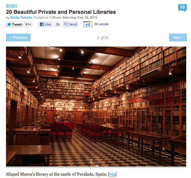 Beautiful Private Library photo - 6