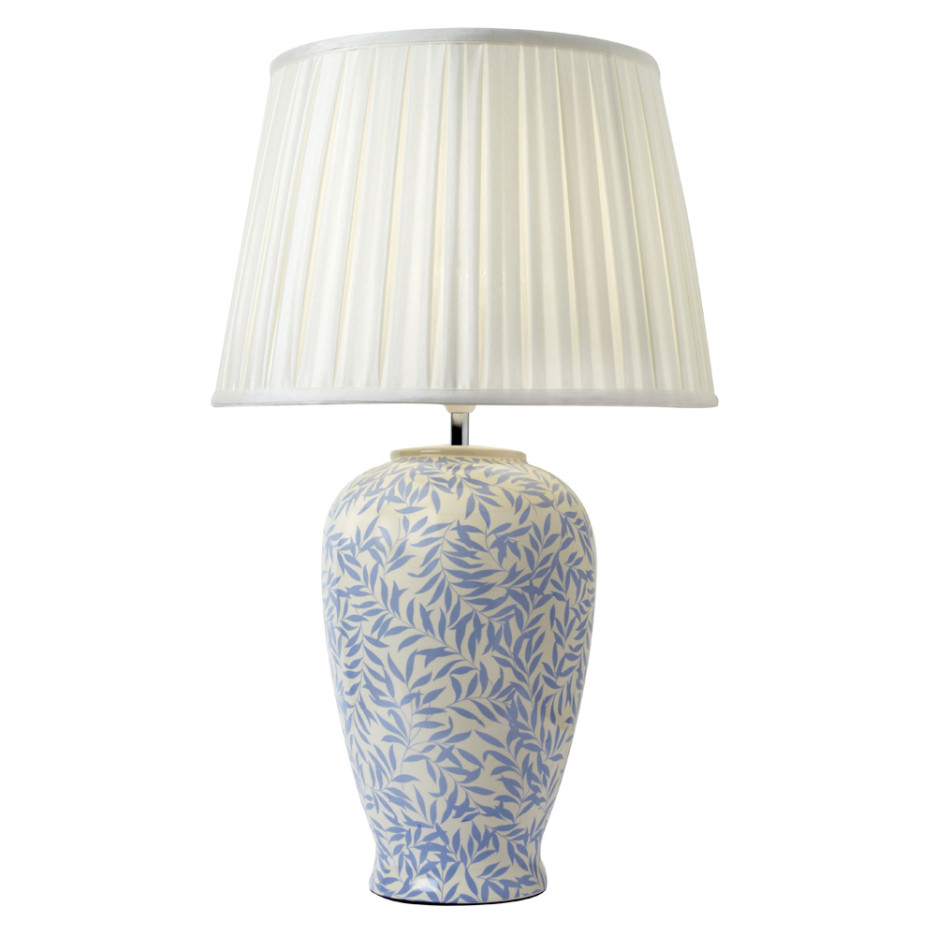 Charming White Flower Table Lamp Design photo - 5