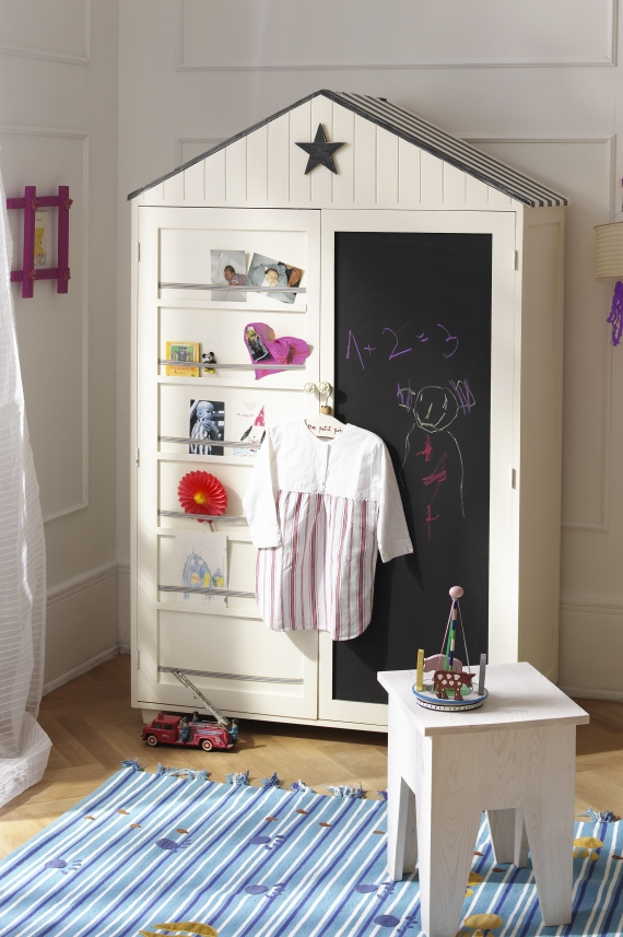 Children's Bedroom Wardrobe Cabinet photo - 9