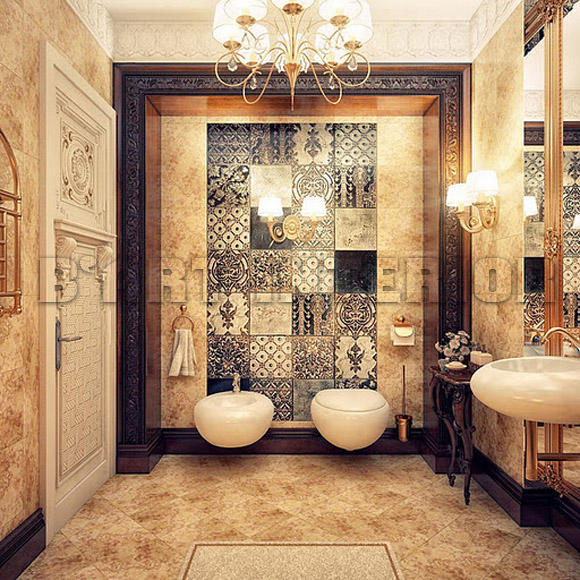 Classic Style Bathroom Design photo - 3
