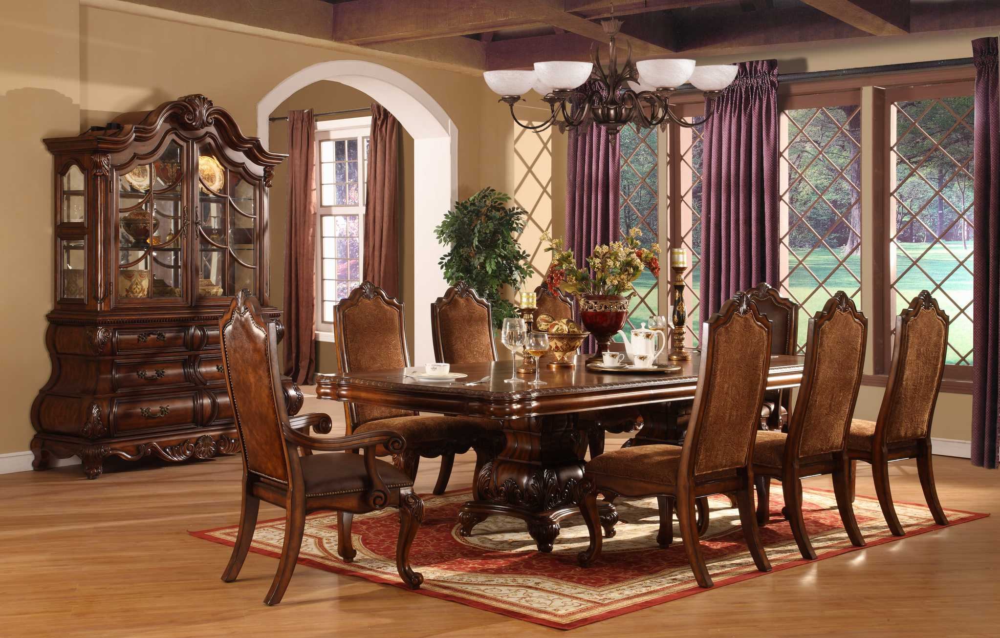 Elaborate Flooring Dining Room photo - 10