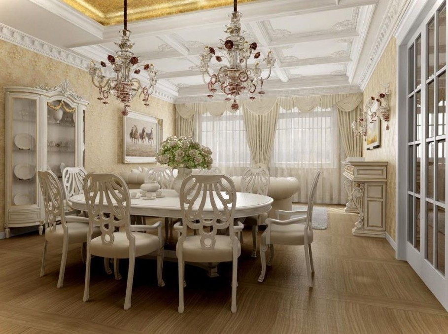 Elaborate Flooring Dining Room photo - 4