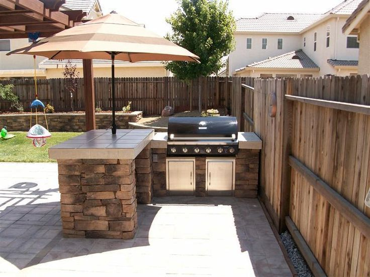 Entertain Like a Pro with an Outdoor Kitchen Island photo - 2