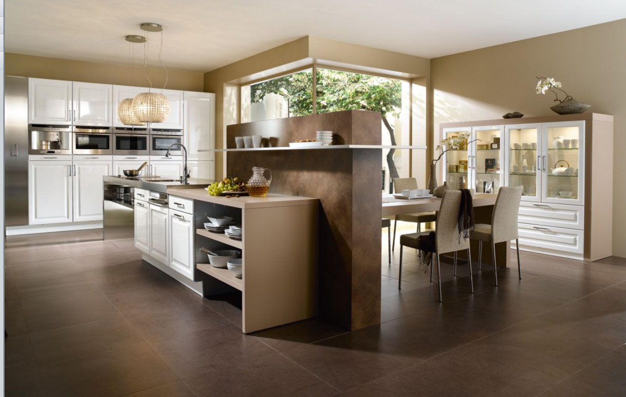 French Contemporary Kitchen photo - 3