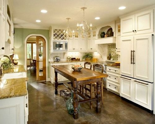 French Contemporary Kitchen photo - 8