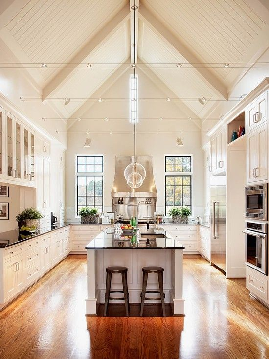 High Ceiling Kitchen photo - 1