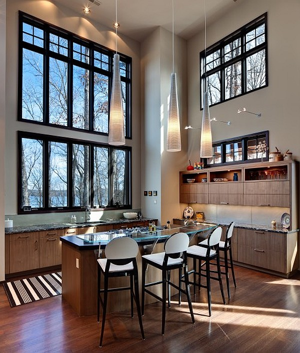 High Ceiling Kitchen photo - 2