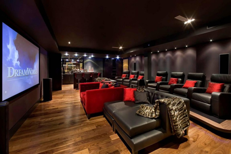 Home Theater Design photo - 1