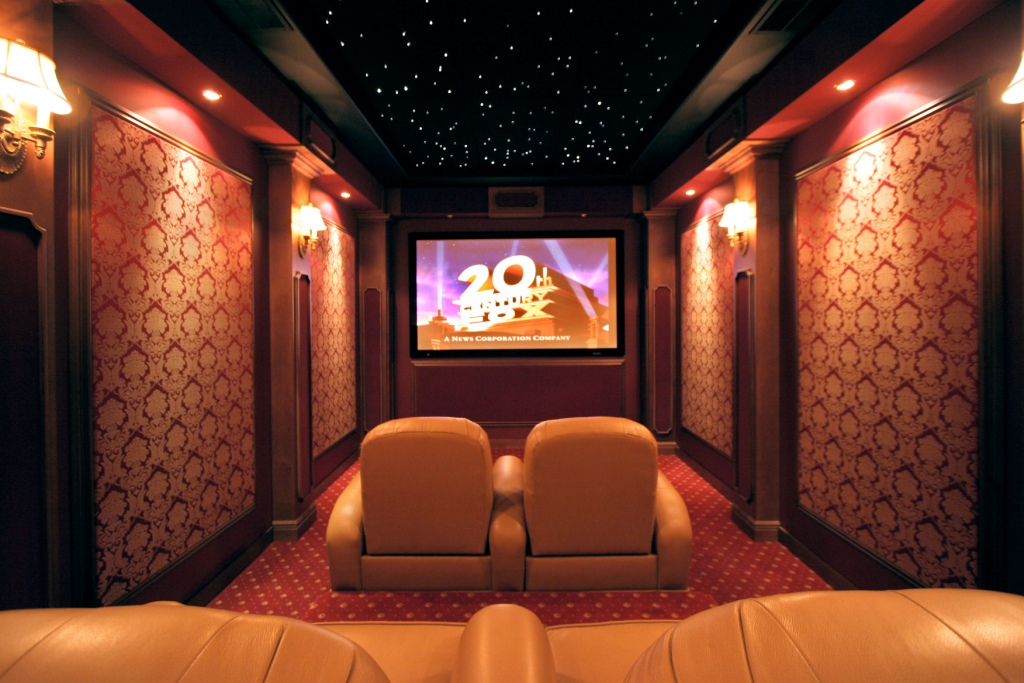 Home Theater Design photo - 2