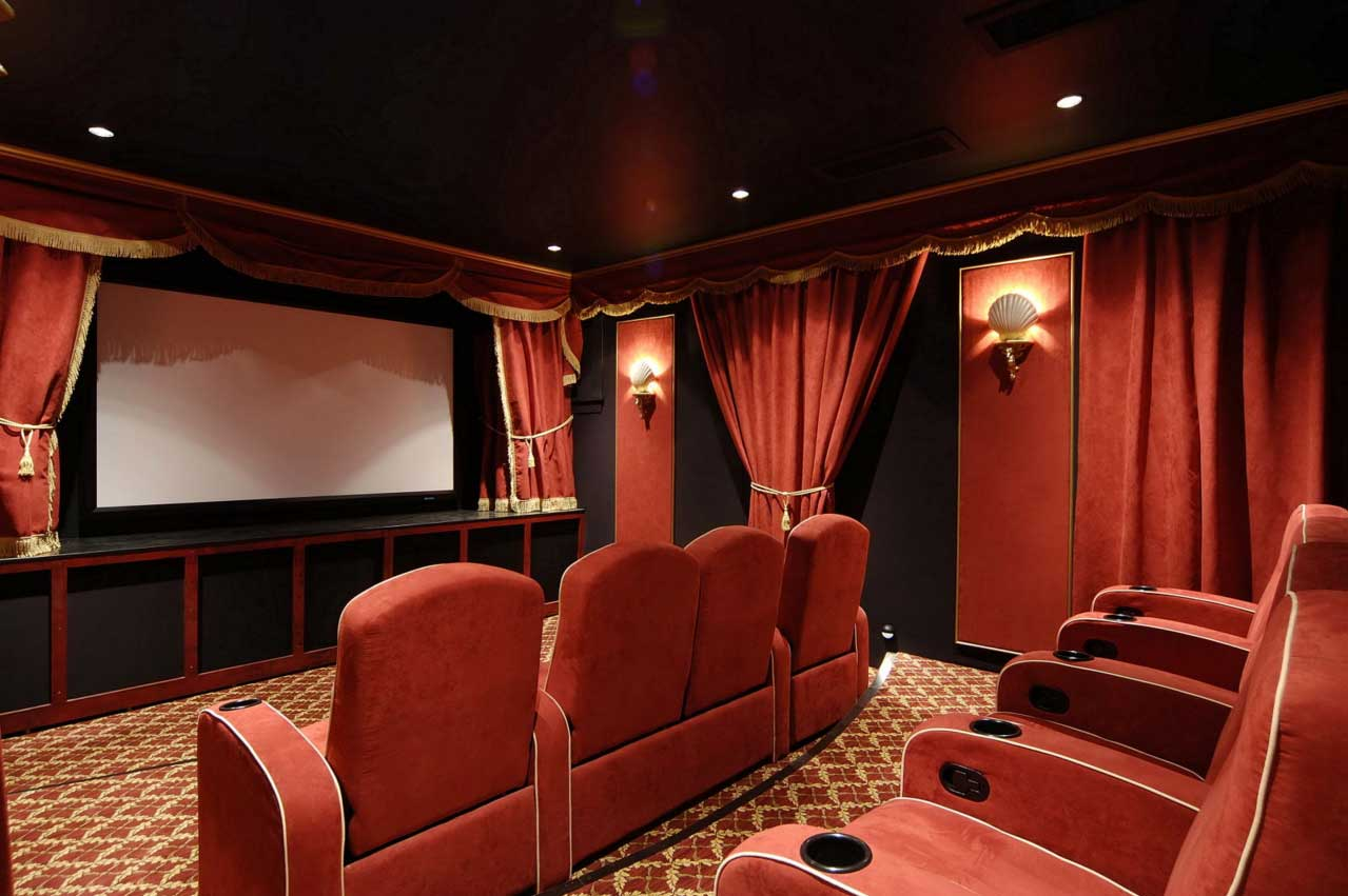 Home Theater Design photo - 6