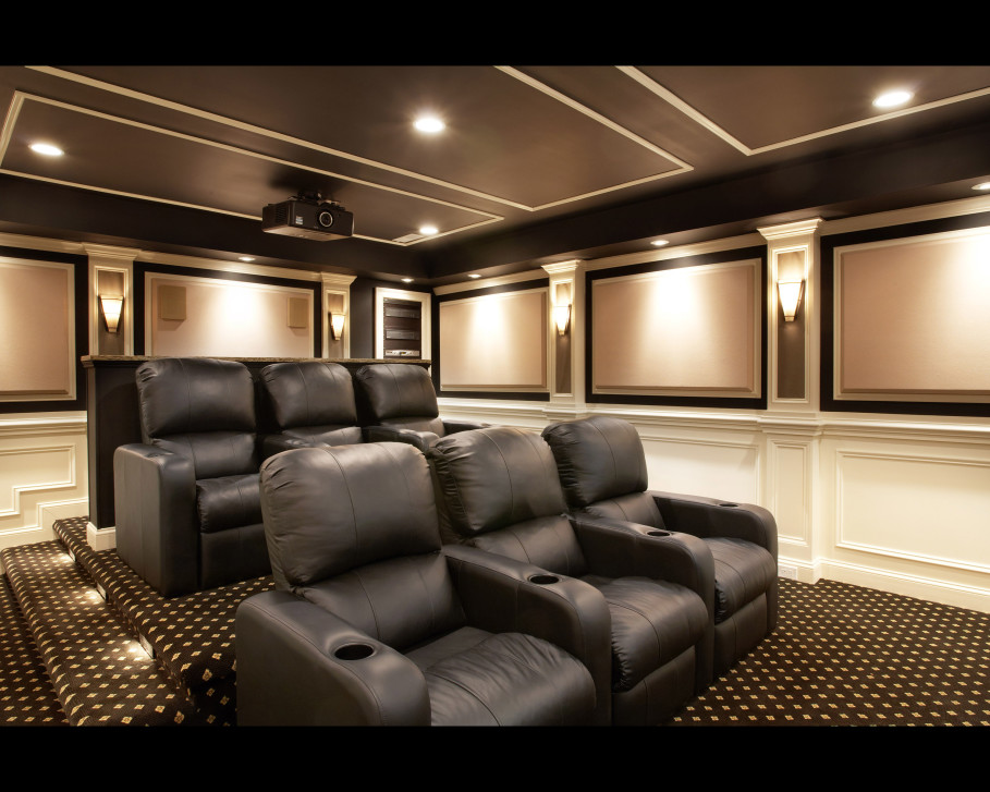 Home Theater Design photo - 7