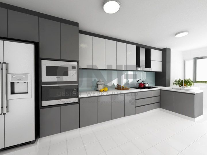 Kitchen with Sunlight Interior Concept photo - 7